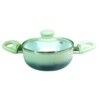 <p align='left'>Cacarola de Ceramica com Tampa de Vidro nº 18 Chumbo [Catuaí 33283]</p>