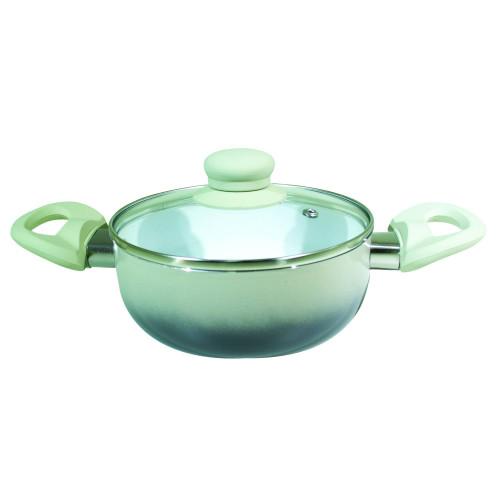 Cacarola de Ceramica com Tampa de Vidro nº -20 Chumbo [Catuaí 33284]