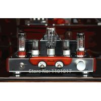 <p align='left'>Amplificador valvulado  EL34, HIFI EXQUIS, 32W RMS, versão Classe single-ended </p>