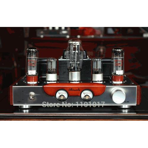 Amplificador valvulado  EL34, HIFI EXQUIS, 32W RMS, versão Classe single-ended
