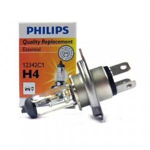 <p align='left'>Lampada H4 do Farol, Universal, Automotiva, Original Philips 60/55W Standard</p>