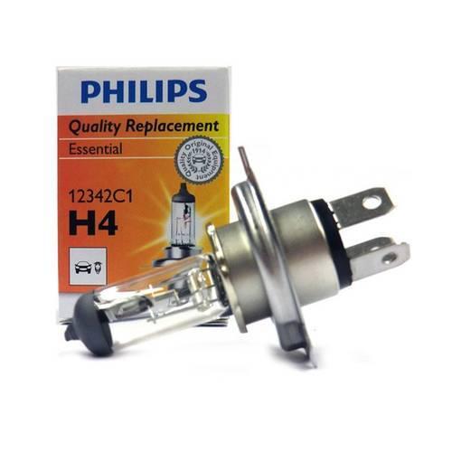 Lampada H4 do Farol, Universal, Automotiva, Original Philips 60/55W Standard