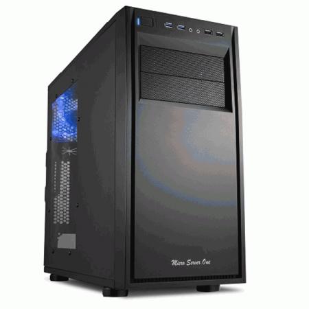 Servidor Micro Server Two R1 - Sistemática-sa, Processador Intel Core i3-6100 Skylake, Cache 3MB, 3.7GHz, Ram16GB, HD 2 TB, Raid 1