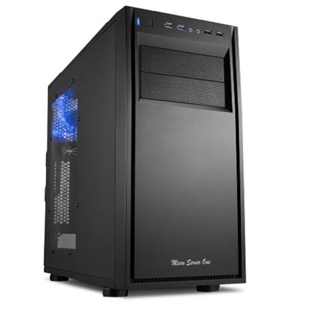 Servidor Micro Server Three - Sistemática-sa, Processador Intel Core i5-7400 Kaby Lake, Cache 6MB, 3.0GHz, Ram 16GB,  HD 2TB Sata 3, Raid 1