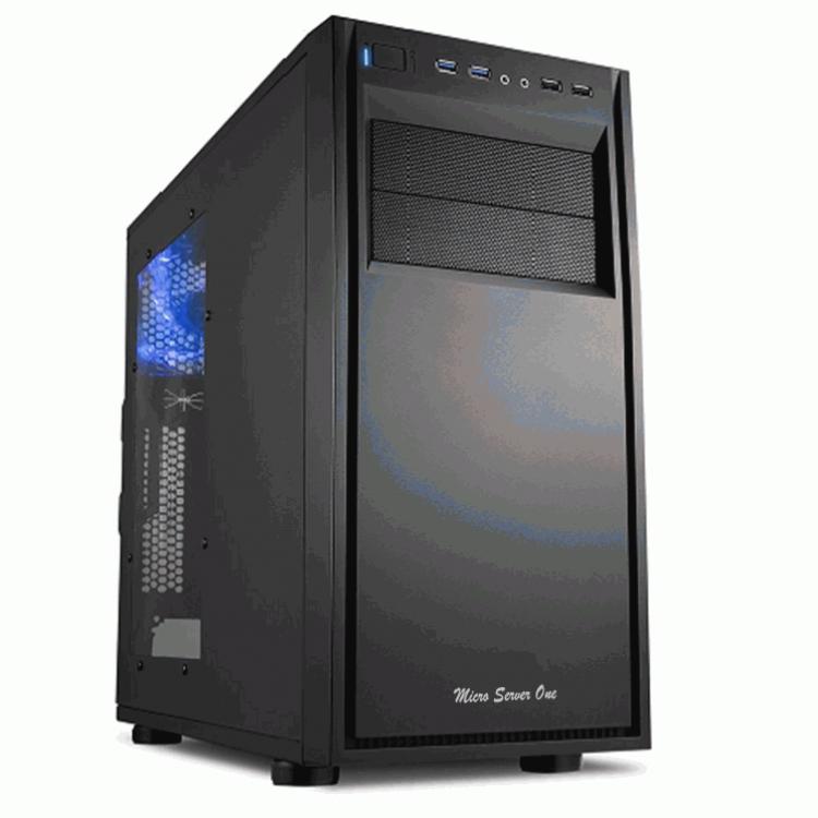 Servidor Micro Server For R1- Sistemática-sa, Intel Core i7-7700K, Clock 4.2GHz, Turbo 4.2GHz, Cache 8MB, Memoria Ram 32GB, 4TB, Raid 1