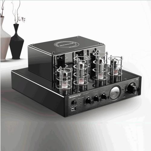 Amplificador Valvulado Nobsound MS-10D  MKII , 2 x 25W, com Bluetooth/USB/saida p/ fone de ouvido Estéreo de Alta Fidelidade