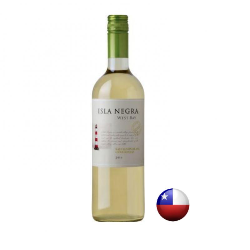<p align='left'>Vinho Isla Negra West Bay Sauvignon,  750ml, Branco Seco Fino, 13%</p>