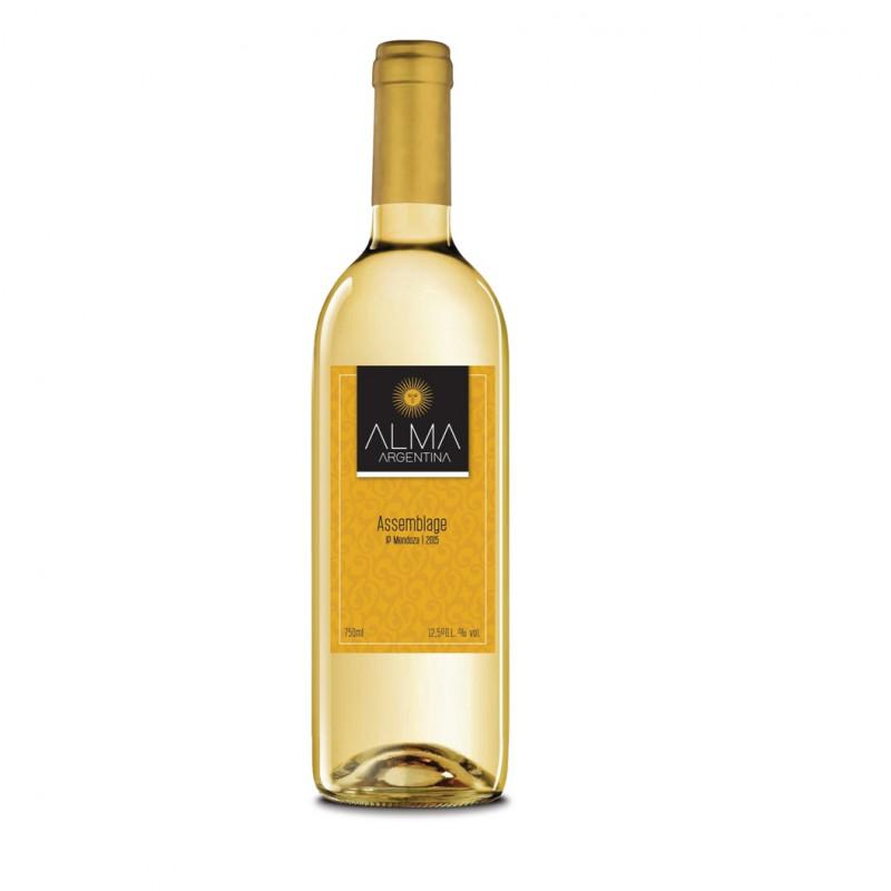 <p align='left'>Vinho Alma Argentina, Assemblagem 750ml, Branco Seco Fino, 2015, 13%</p>