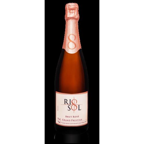 Espumante Rio Sol Brut Rosé, Syrah, 750ml, 12.0%
