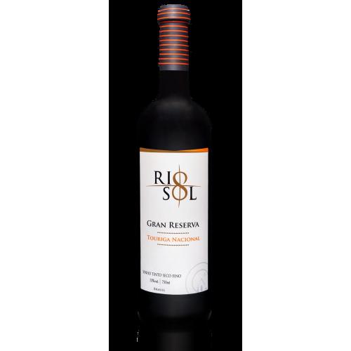 Vinho Rio Sol Gran Reserva Winemaker´S Selection Touriga Nacional, Tinto Seco, 750ml, 13%