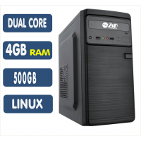 <p align='left'>Computador SSD AMD A4 6300, 4GB, HD 500GB, Linux, DVD [LP1015]</p>