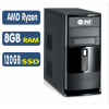 Computador SSD AMD Ryzen 3 2200G, 8GB, SSD 120GB, Linux [LP1022]