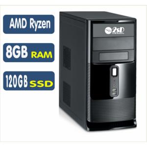 <p align='left'>Computador SSD AMD Ryzen 3 2200G, 8GB, SSD 120GB, Linux [LP1022]</p>