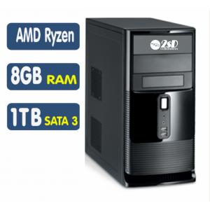 <p align='left'>Computador SSD AMD Ryzen 5 2400G, 8GB, HD 1TB, Linux [LO1030]</p>