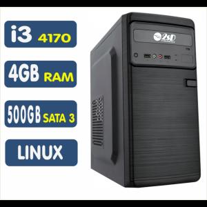 <p align='left'>Computador SSD Intel Core i3-4170, 4GB, 500GB, Linux [LP1004]</p>