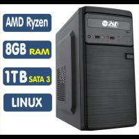 <p align='left'>Computador SSD AMD Ryzen 3 2200G, 8GB, HD 1TB, Linux [LP1021]</p>