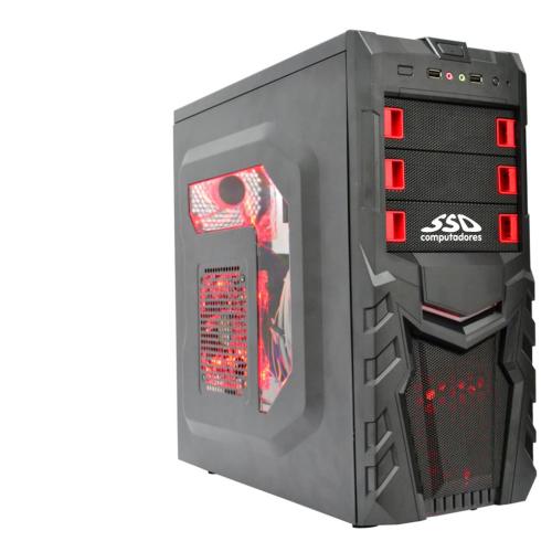 Computador Gamer SSD AMD Ryzen 1200, 8GB, HD 1TB, GTX 1050, Windows 10 (Versão de Avaliação) [LG1016]