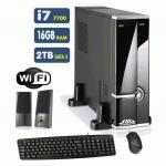 Computador SSD Intel Core i7-7700, 8GB, HD 1TB, DVD-RW, Windows 10(Versão de Avaliação) [LO1014]
