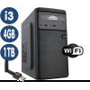 Computador SSD Intel Core i3-4170, 4GB, HD 1TB, Wifi, Windows 10(Versão de Avaliação) [LP1001]