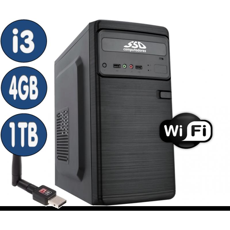 <p align='left'>Computador SSD Intel Core i3-4170, 4GB, HD 1TB, Wifi, Windows 10(Versão de ...</p>