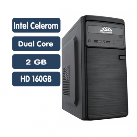 <p align='left'>Computador SSD Intel Core Celeron Dual J1800, 2GB, HD 160GB, Windows ...</p>