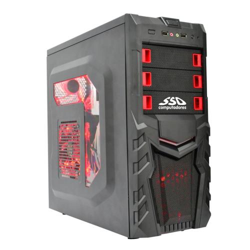 Computador Gamer SSD AMD Ryzen 5 2400G, 8GB, HD 1TB, Windows 10 Pro (Versão de Avaliação) [LG1012]