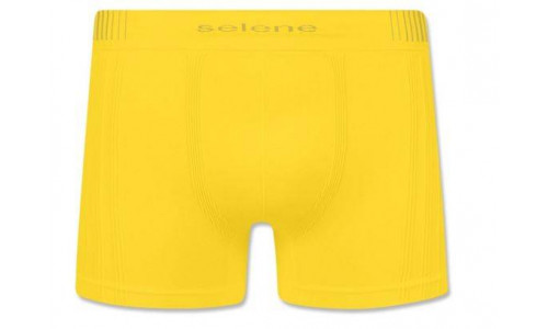 <p align='left'>Cueca Boxer Selene Poliamida Sem Costura, Amarela, 11070</p>